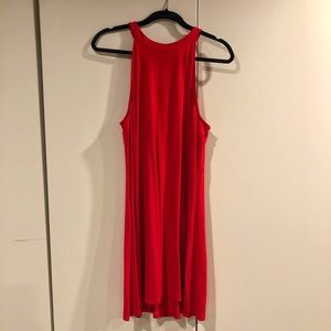 Red Express Tank Dress